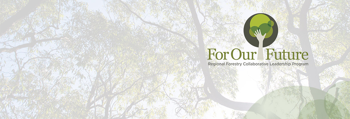 For Our Future – Regional Forestry Collaborative Leadership Program